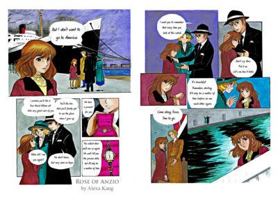 rose of anzio manga final 2 ingles